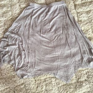 Eileen Fisher handkerchief length linen skirt